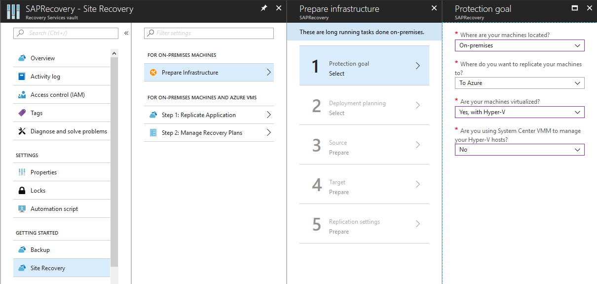 Your SAP on Azure – Part 7 – Protect SAP landscape with