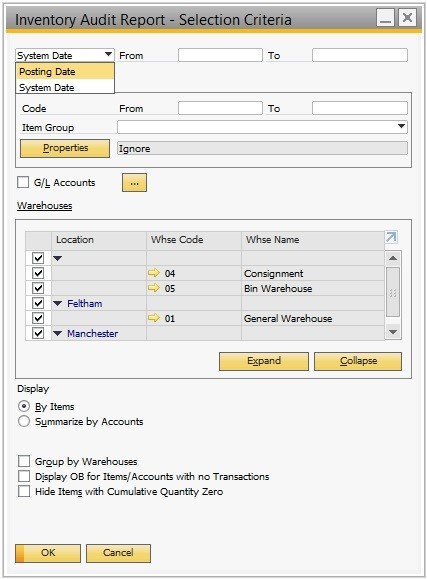Working With Inventory Audit Report | SAP Blogs