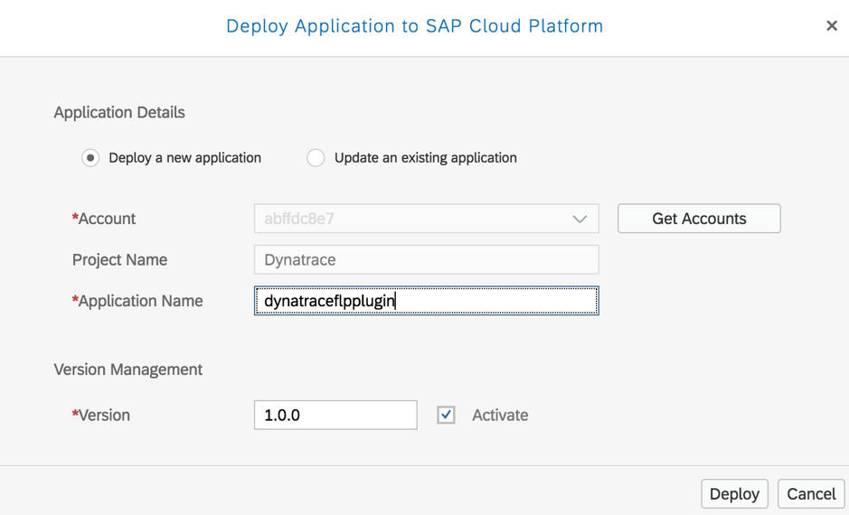 Monitoring a Fiori Launchpad on SAP Cloud Portal using