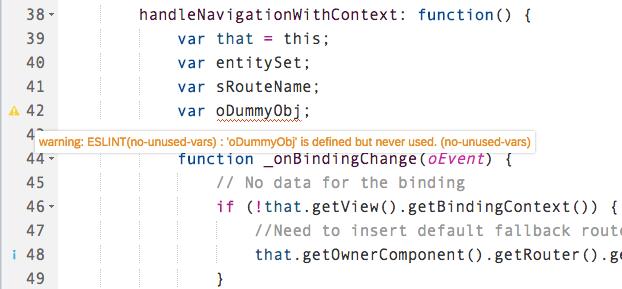 SAP Web IDE Code Editor Capabilities – Recap   SAP Blogs