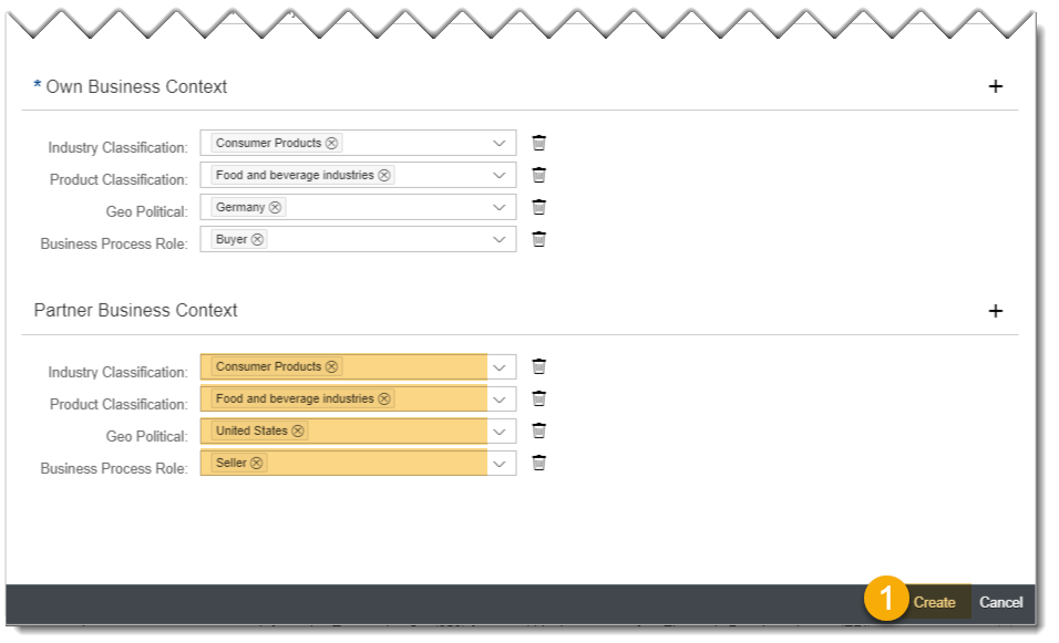 integration content advisor: Create a customized interface using MIG