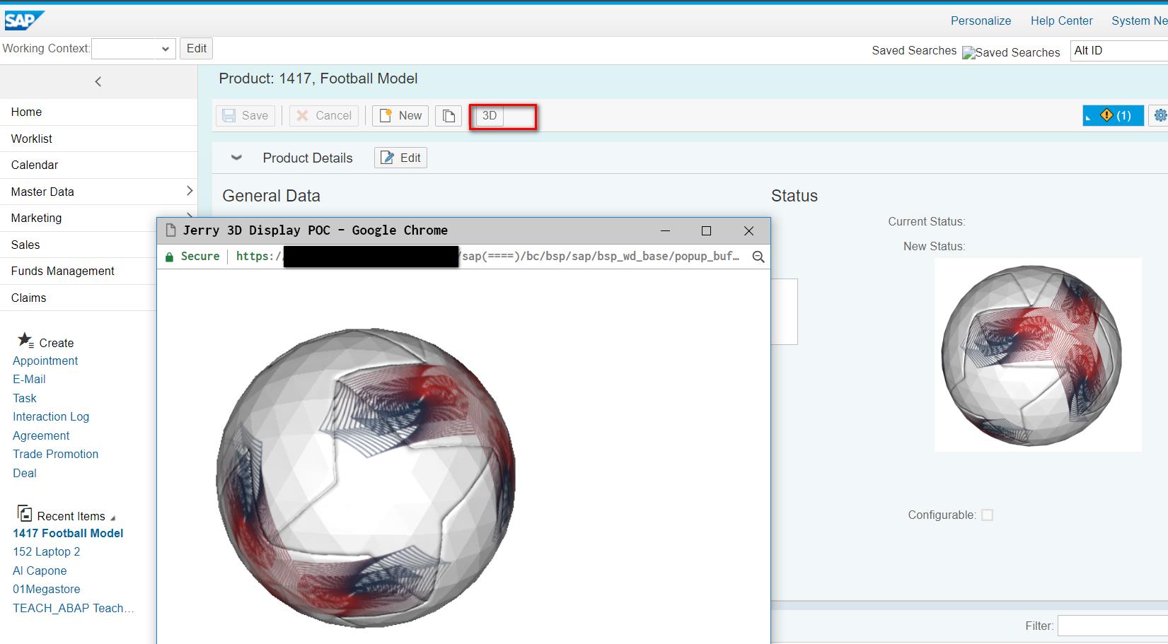 Webgl Sphere
