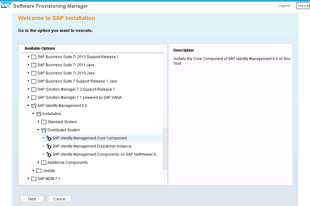 How to Install SAP Identity Management 8 0 as a Distributed