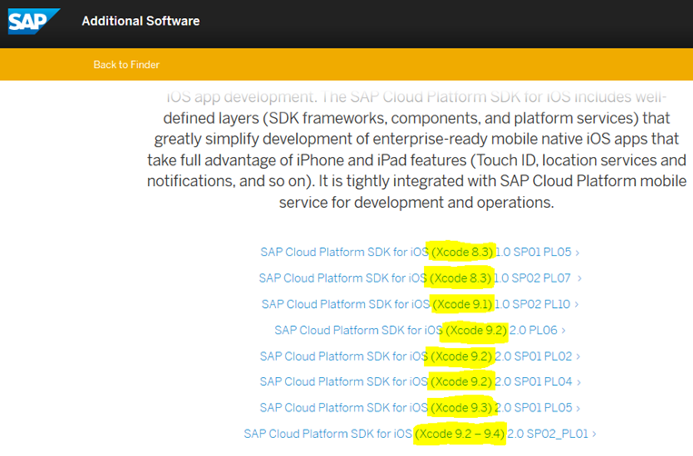 SDK for iOS: Your quick-start guide | SAP Blogs