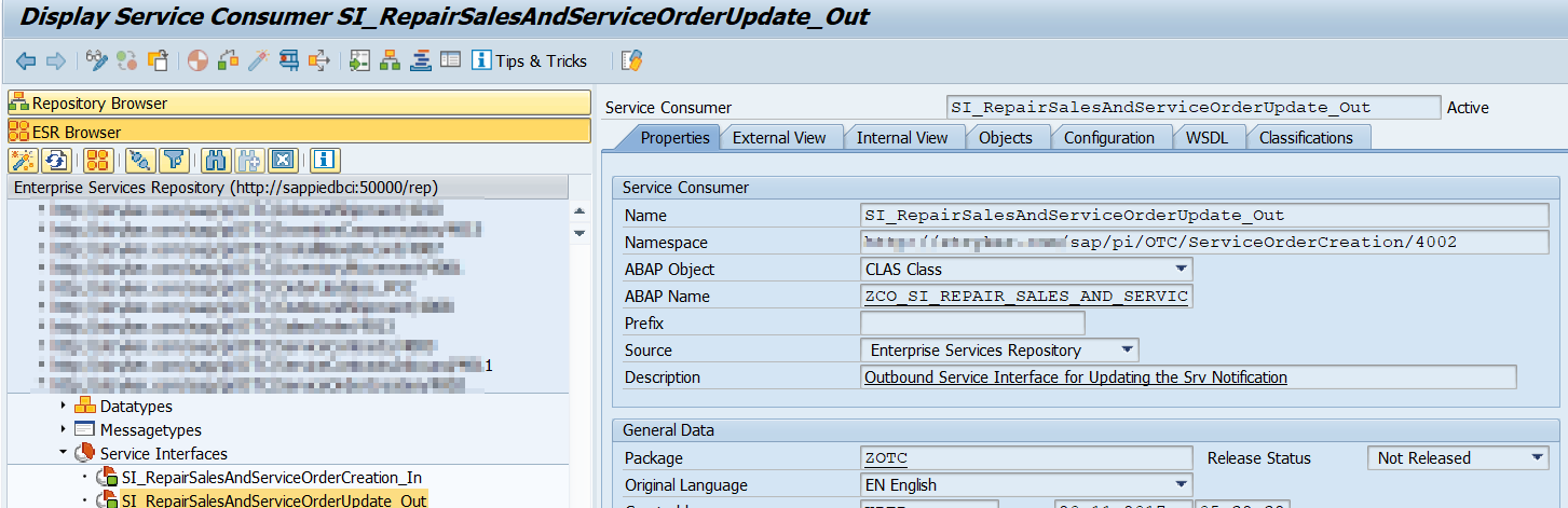 AIF Implementation for PI proxies(Outbound)- Part 1 | SAP Blogs