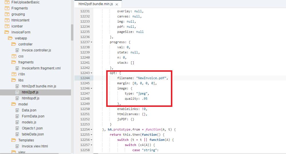 File js pdf using