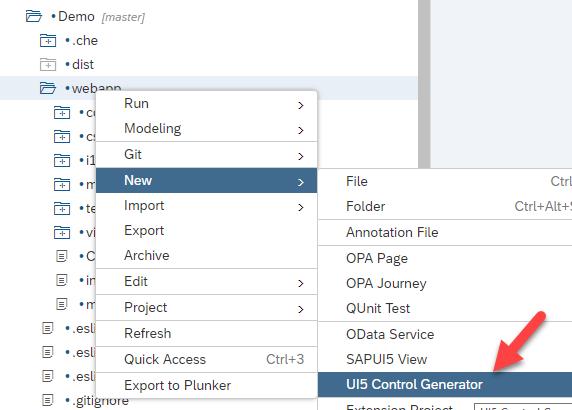 UI5 Control Generator v2 – SAP Web IDE Template   SAP Blogs