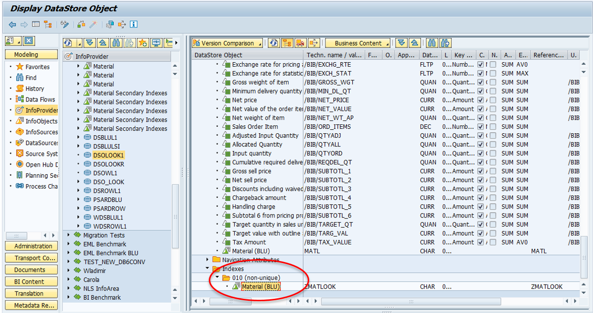 How to Use Indexes for SAP BW Objects with Db2 BLU
