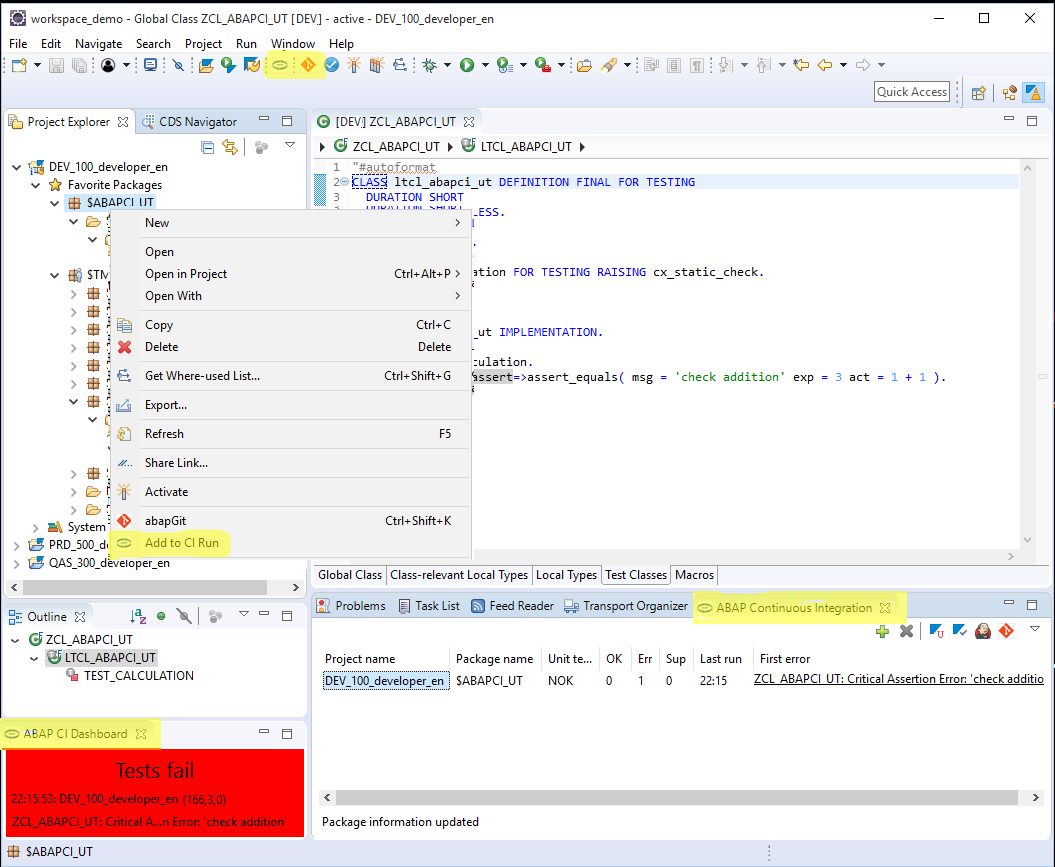 ABAP Continuous Integration Plugin now with Plug and Play | SAP Blogs