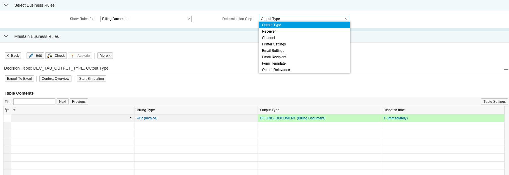 New Output Management Determination In Billing Documents Sap Blogs