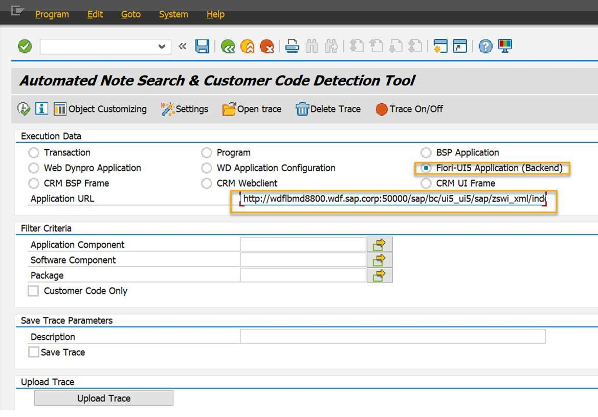 ANST: Support SAP Fiori Applications and Other Enhancements