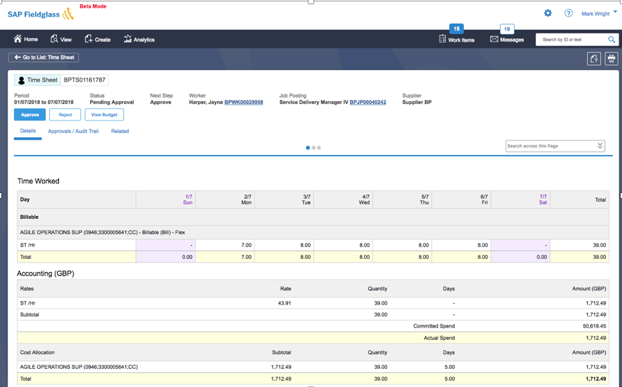 Approve your Fieldglass Work Items with SAP Cloud Platform ...
