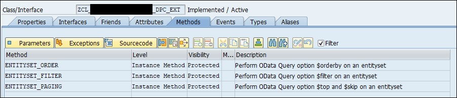 Gateway OData service – how to implement generic filtering