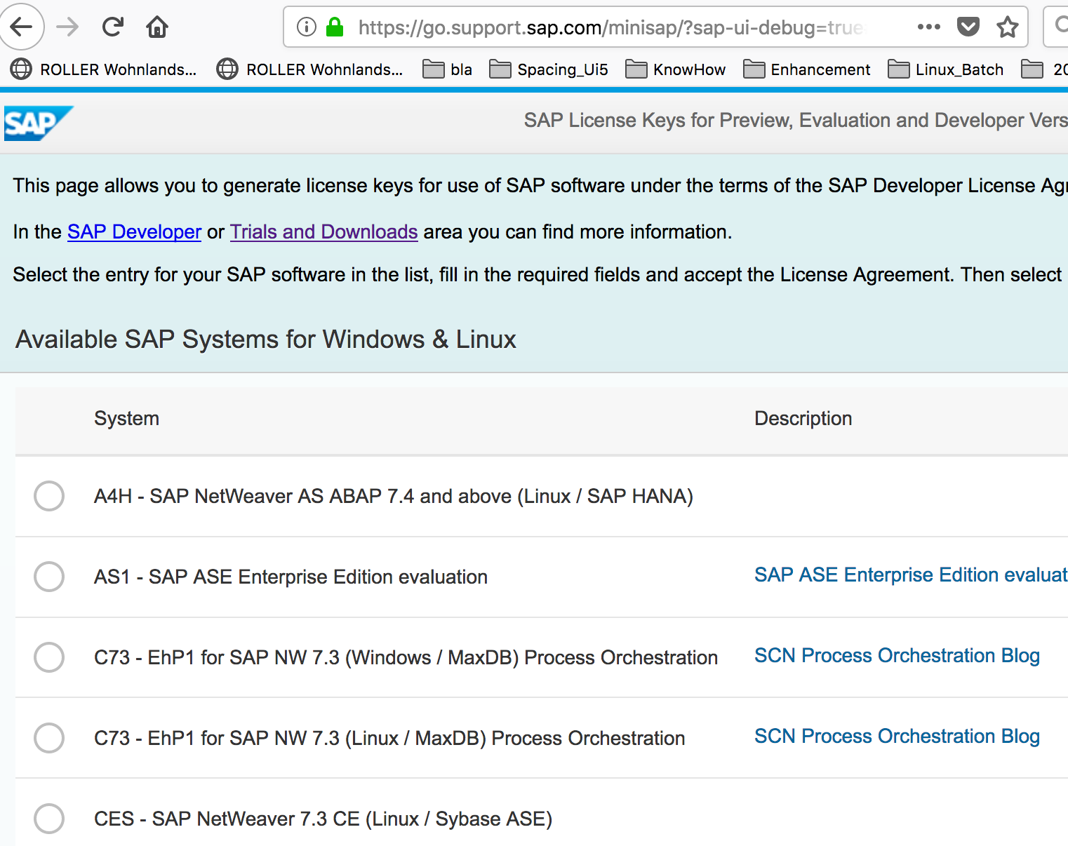 AS ABAP 752 SP01, developer edition, to download | SAP Blogs