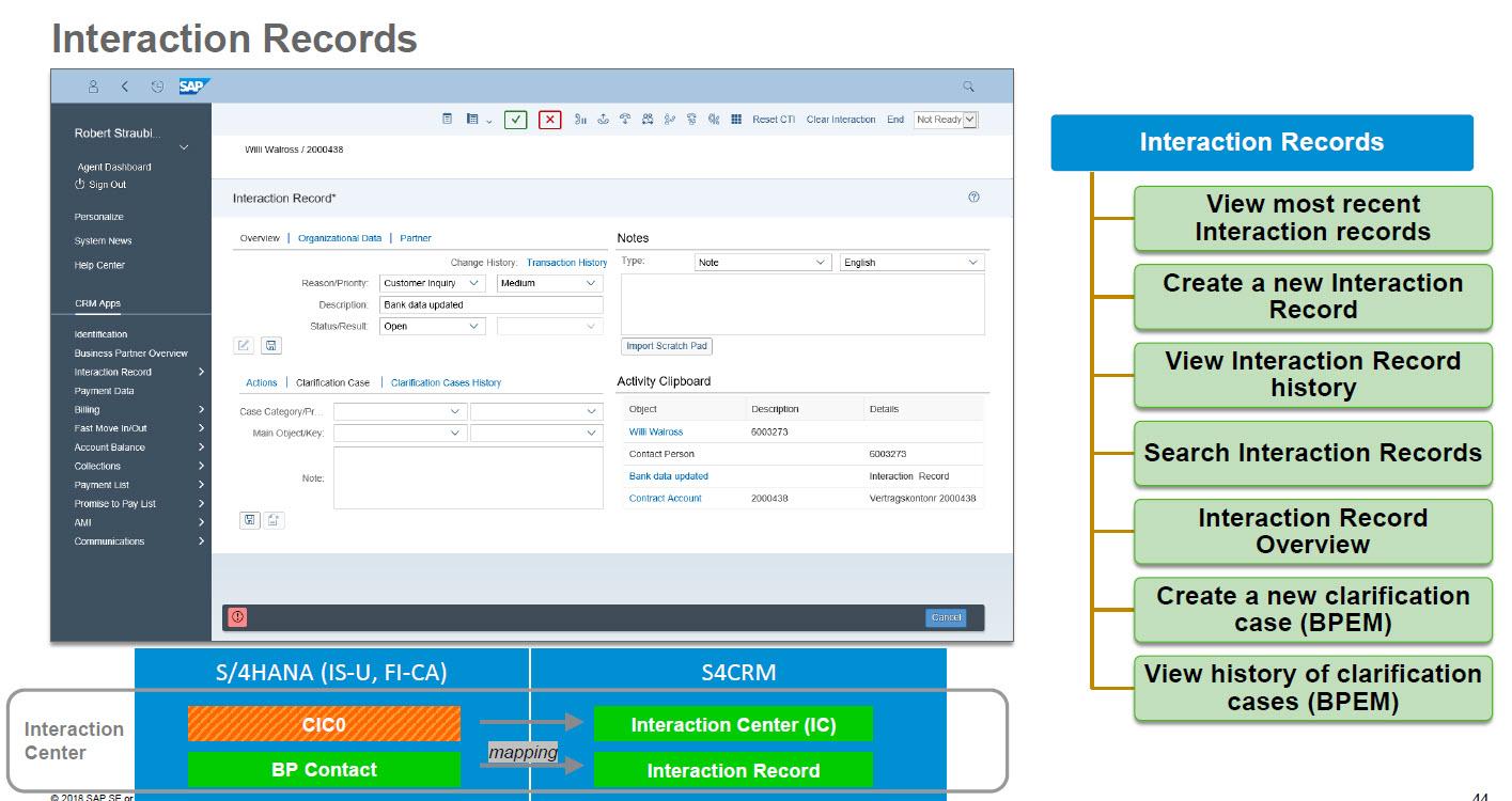 SAP S/4HANA Utilities for Customer Management – a #SAP4U