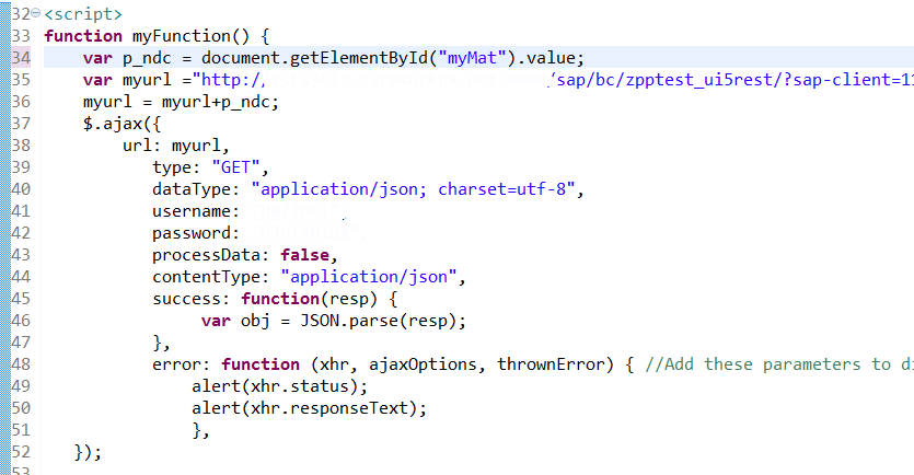 A simple REST Web-service from ECC called from a HTML5 screen | SAP