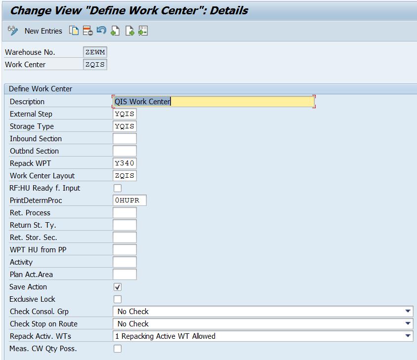 SAP S/4HANA Embedded EWM-QM Integration Setup-1709   SAP Blogs