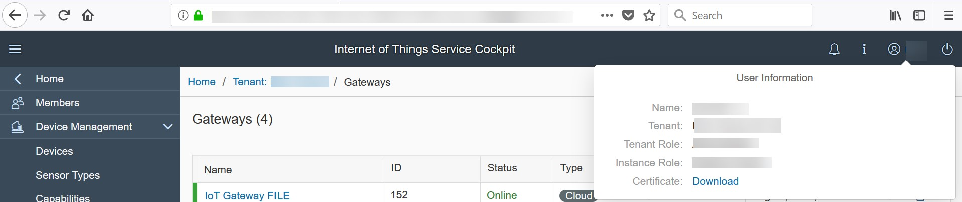 Implementing a Standard File Adapter for Internet of Things
