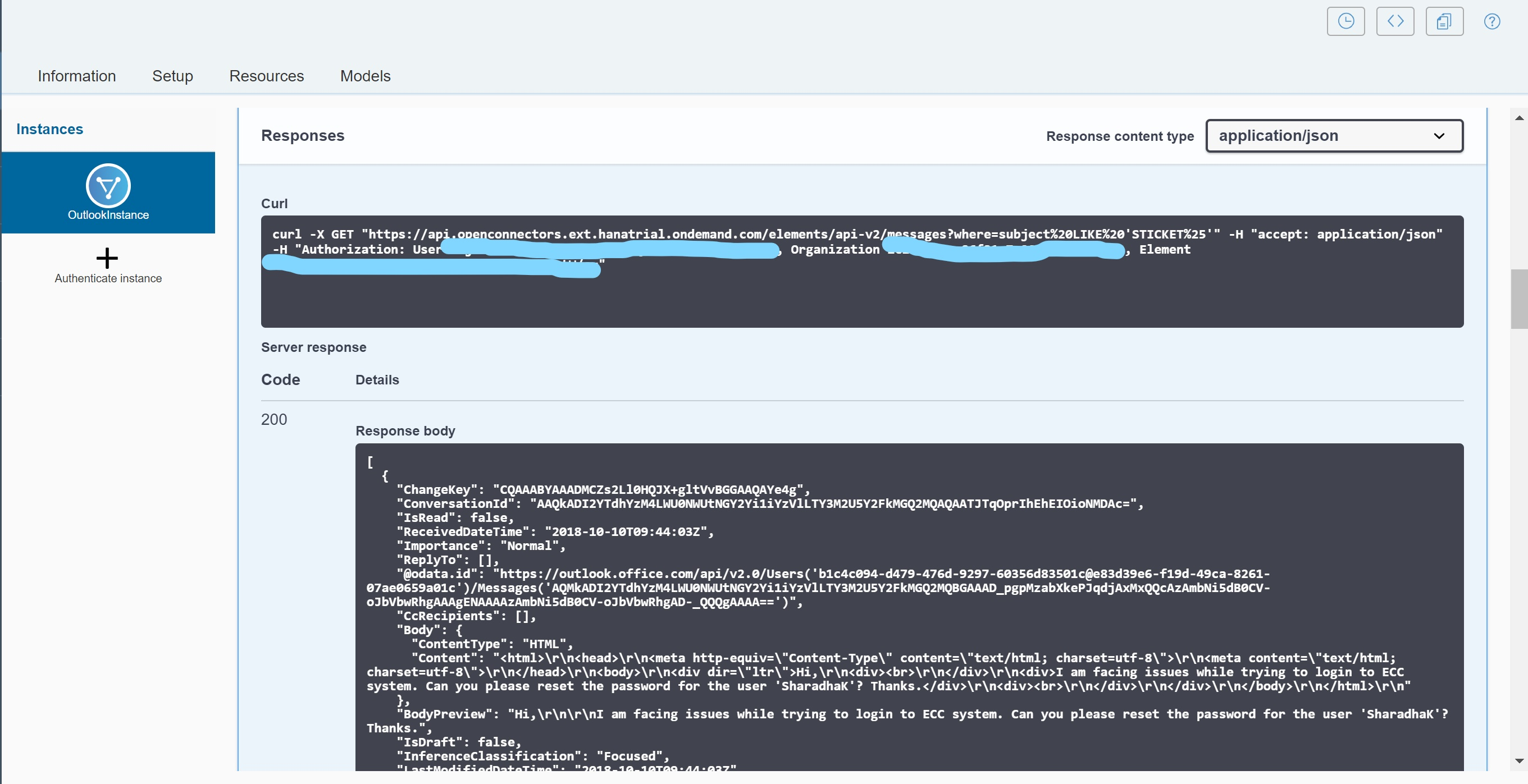 SAP Cloud Platform – Connect to Outlook mail using Open