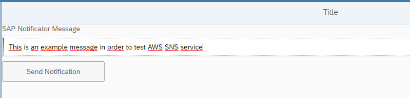 Proof of Concept: SAPUI5 application using AWS SNS service | SAP Blogs