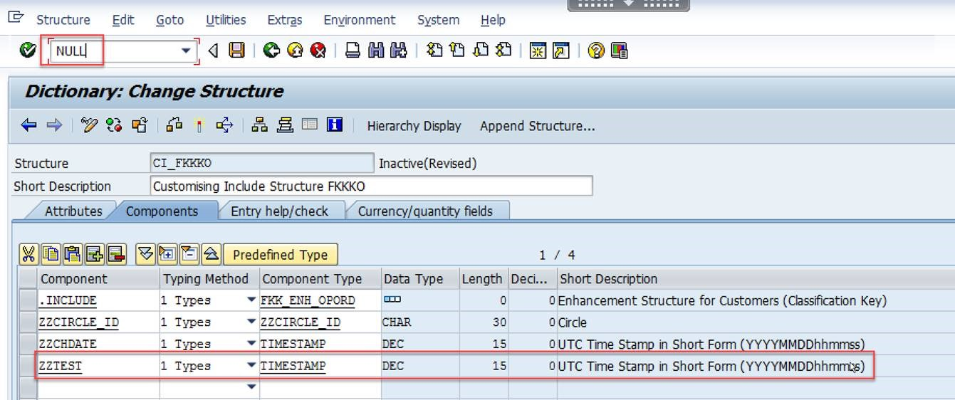 Ensure values of the newly added fields to the database