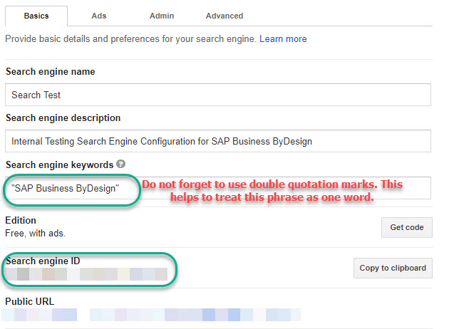 Google Search Integration With Sap Business Bydesign Sap Blogs