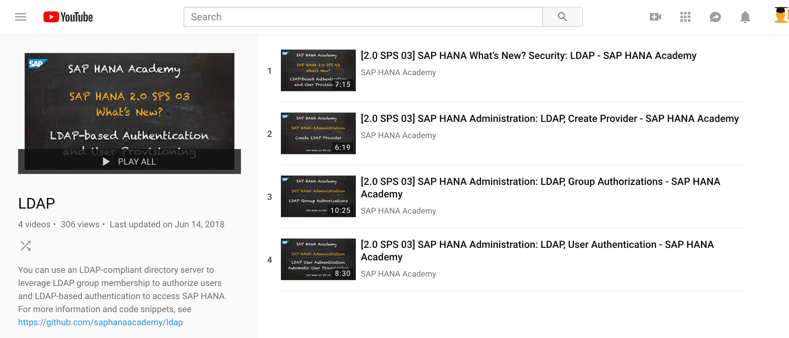 LDAP-based Authentication and User Provisioning for SAP HANA