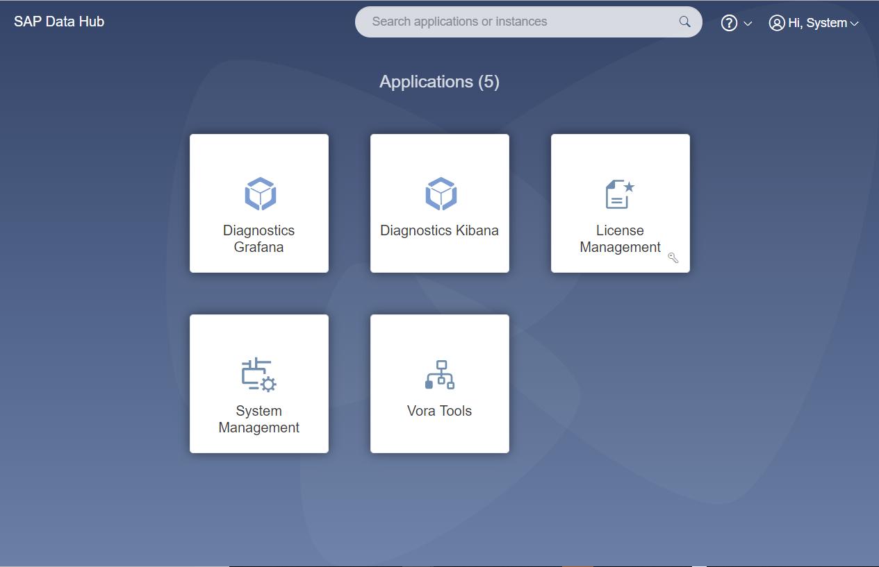 Using SAP Data Hub Diagnostics | SAP Blogs