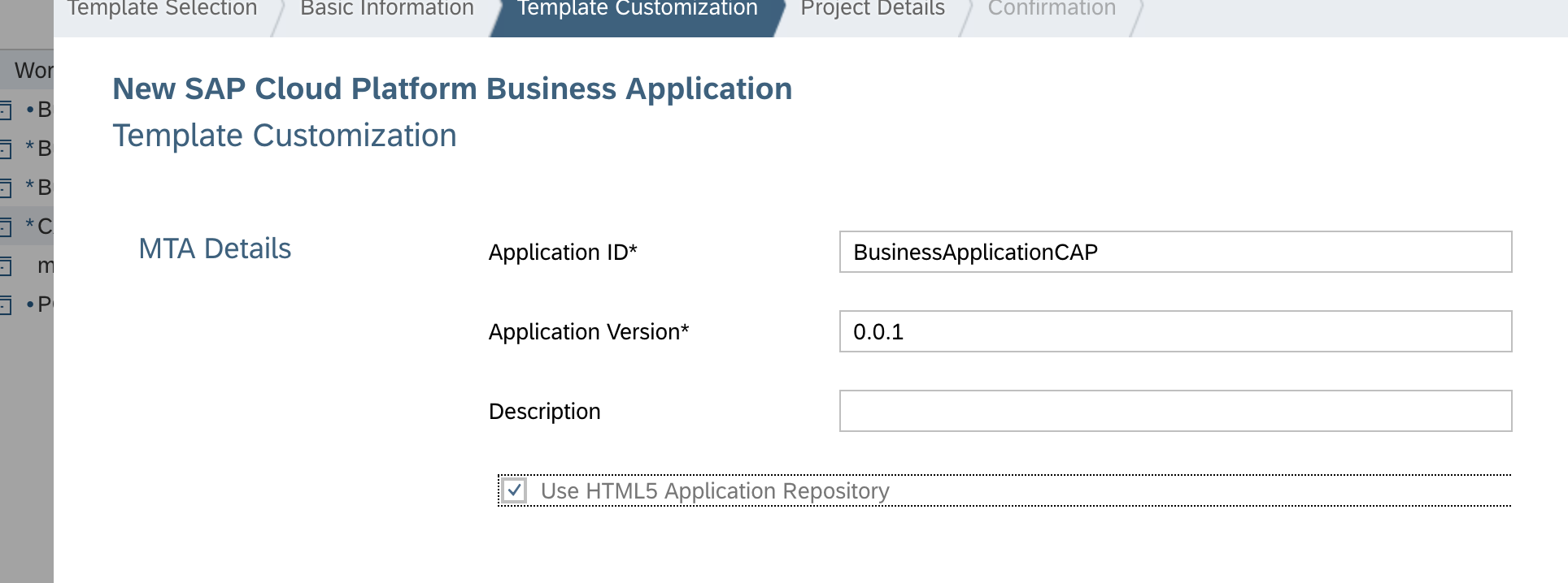 develop a full stack business application with sap cloud application