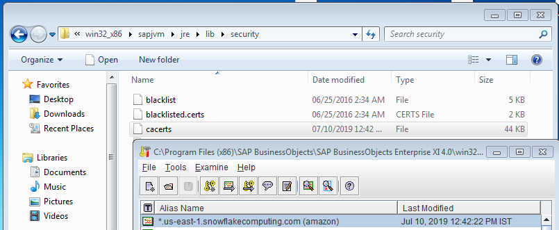 How to set up SAP BusinessObjects with SNOWFLAKE using JDBC | SAP Blogs