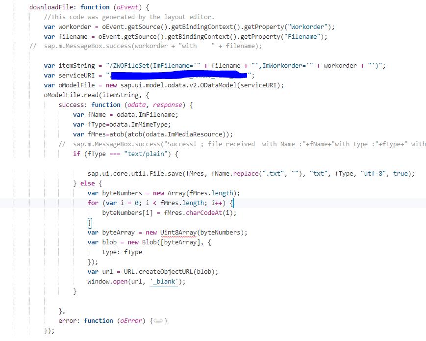 Upload/download File in SAP UI5 Application using Gateway   SAP Blogs