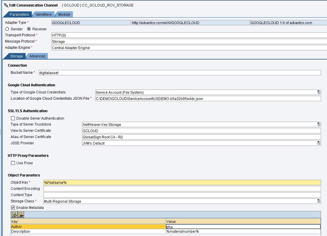 Integration with Google Cloud Platform (GCP)  | SAP Blogs