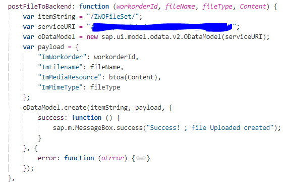 Upload/download File in SAP UI5 Application using Gateway | SAP Blogs