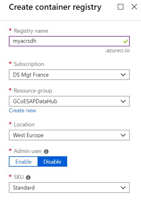 SAP Data Hub deployment on Microsoft Azure | SAP Blogs