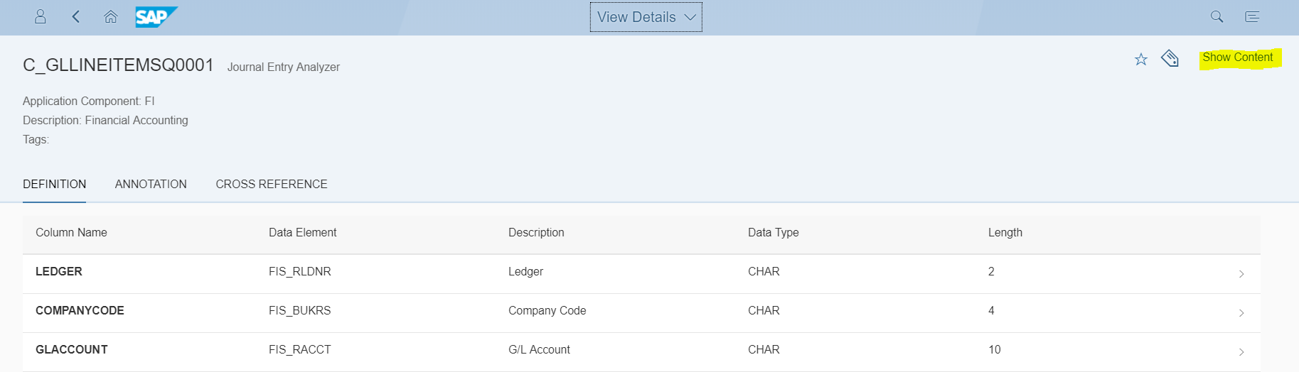 How to find a predefined Virtual Data Model in S/4HANA | SAP