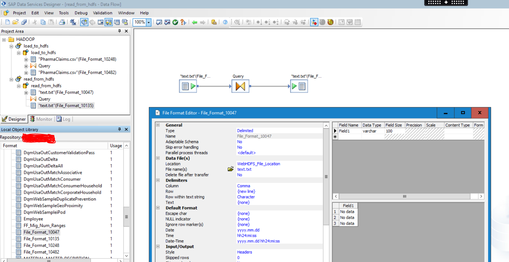 SAP Data Services & Apache HADOOP | SAP Blogs