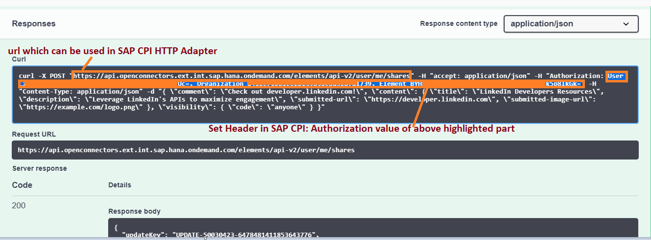 OpenConnectors-LinkedIn Integration made simple with SAP CPI