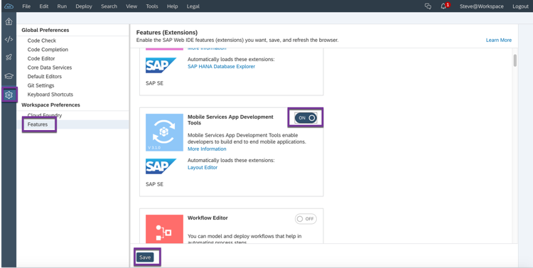 Quickly create a native mobile app using SAP Mobile