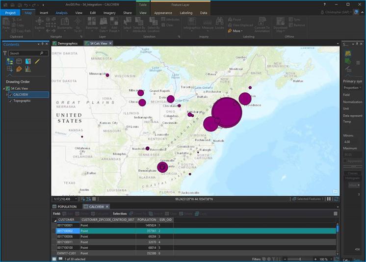 Spatial Data Integration with S/4HANA | SAP Blogs