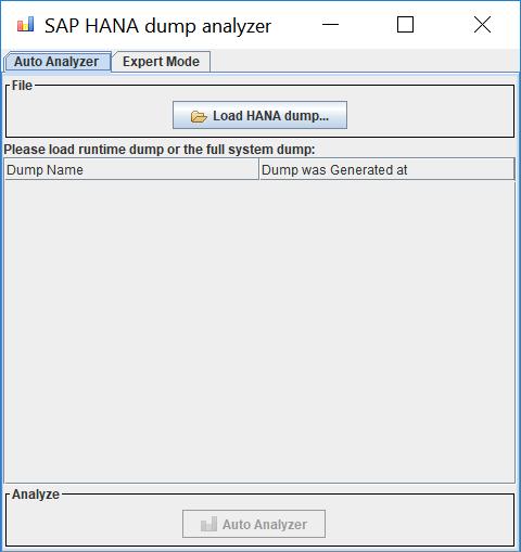 Analyzing SAP HANA Runtime Dumps with SAP HANA dump analyzer