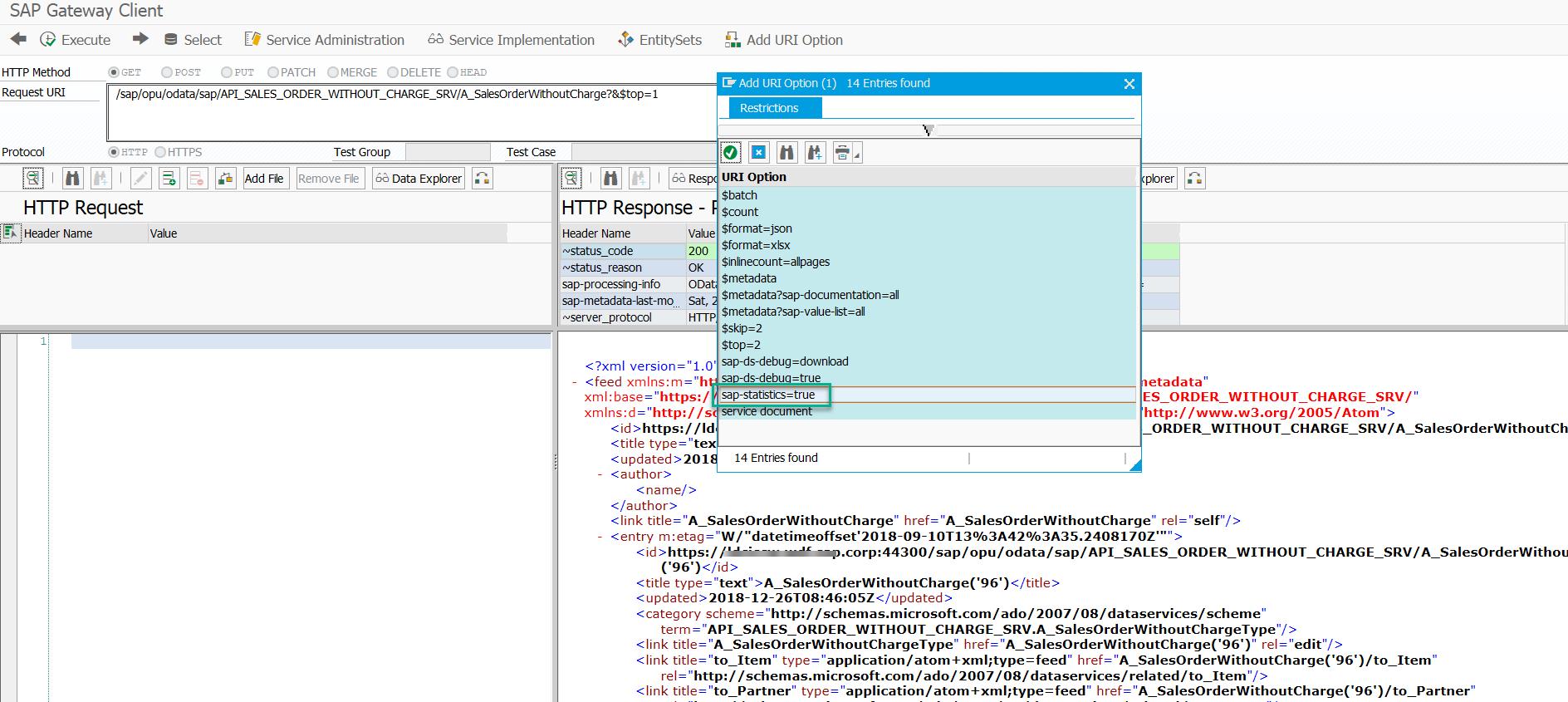 Automated Performance Testing of SAP Public OData APIs