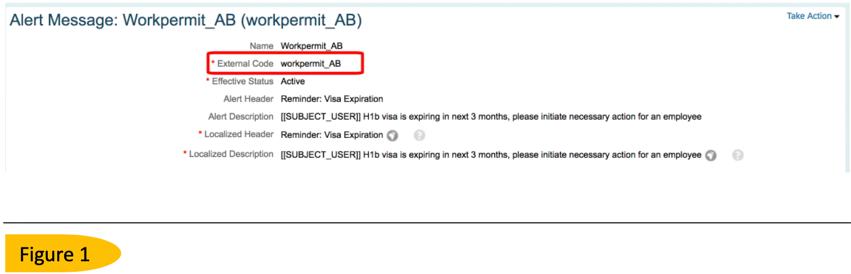 Work Permit Date Expiration Alert in Employee Central | SAP