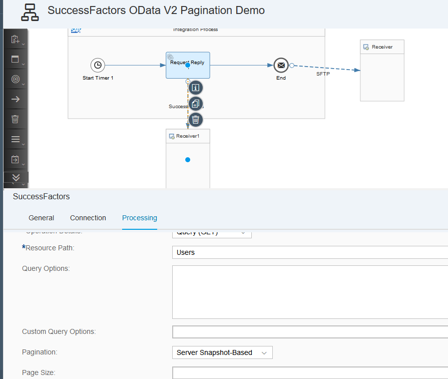 SAP Cloud Platform Integration – Enhanced Pagination in