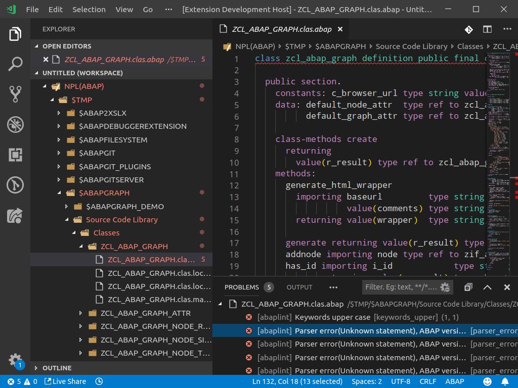ABAP remote plugin for visual studio code | SAP Blogs