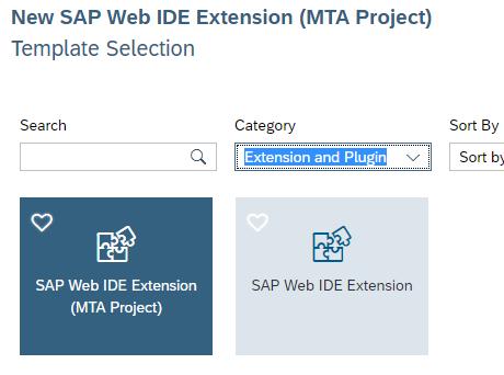 SAP Web IDE Custom Wizard Step | SAP Blogs