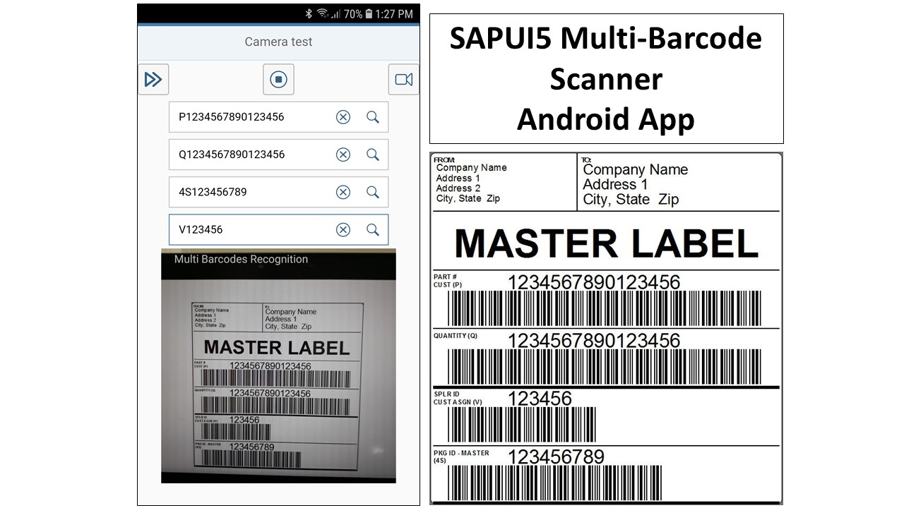 SAPUI5 Multi-Barcode Scanner App | SAP Blogs
