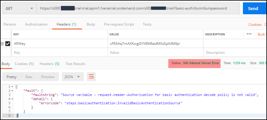 SAP API Management – Handling Faults using FaultRules and