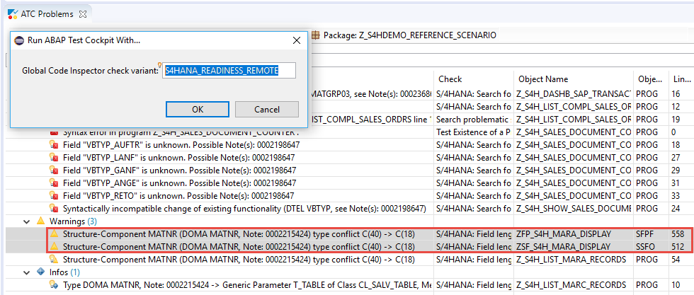 Remote Code Analysis in ATC – How to check Smart Forms and