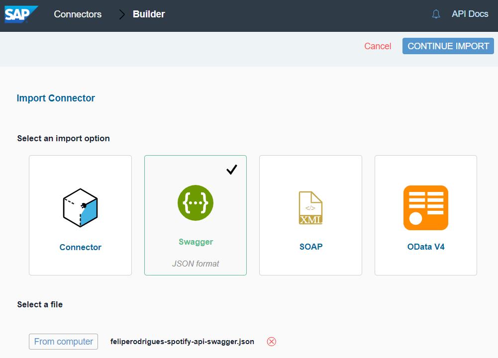 Build a new connector in SAP Cloud Platform Open Connectors   SAP Blogs
