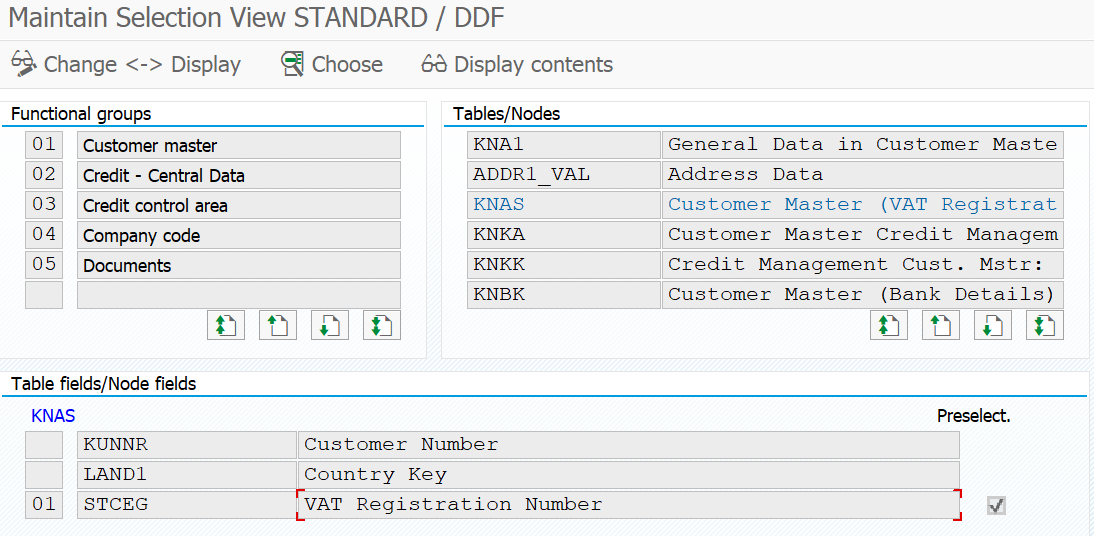 Add New Field on the Dynamic Selection Using Logical Database | SAP